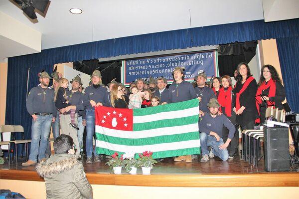Военно-патриотический хор Италии Coro della Brigata Alpina Tridentina 16 января провел концерт, посвященный помощи больным детям, подопечным Культурно-благотворительного фонда Ашана - Sputnik Абхазия