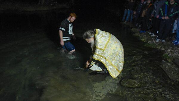 Праздник Крещения. - Sputnik Абхазия