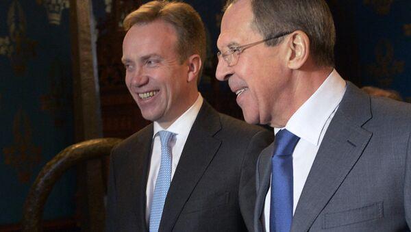Встреча глав МИД России и Норвегии - Sputnik Абхазия
