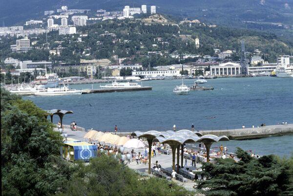 Панорама города Ялты. Архивное фото - Sputnik Абхазия