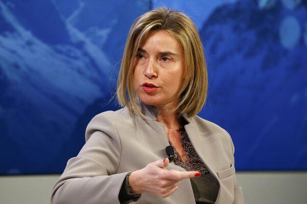 Глава дипломатии ЕС Федерика Могерини. Архивное фото. - Sputnik Абхазия