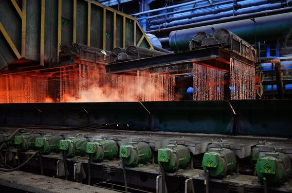 Металлургический комбинат. Архивное фото - Sputnik Абхазия