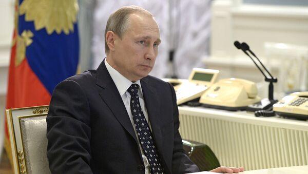 Президент России В.Путин. Архивное фото - Sputnik Абхазия