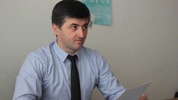 Начальник Политического отдела МИД республики Ираклий Тужба - Sputnik Абхазия