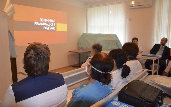 Презентация курсов неонотолога от UNICEF и минздрава Абхазии. - Sputnik Абхазия