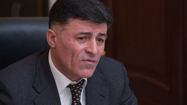 Министр внутренних дел Абхазии Леонид Дзапшба - Sputnik Абхазия