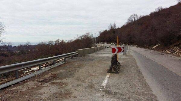 Отремонтированный отрезок трассы Псоу-Сухум - Sputnik Абхазия