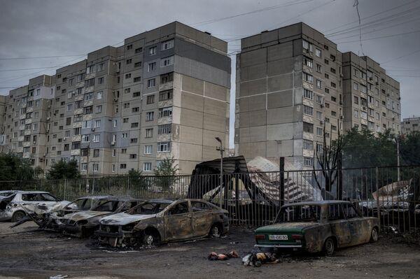 Ситуация в Луганске. Архивное фото - Sputnik Абхазия