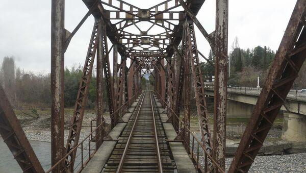 Железная дорога. - Sputnik Абхазия