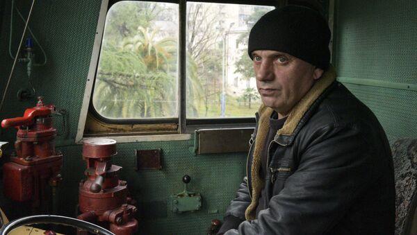 Профессия машинист - Качабава Эдуард - Sputnik Абхазия
