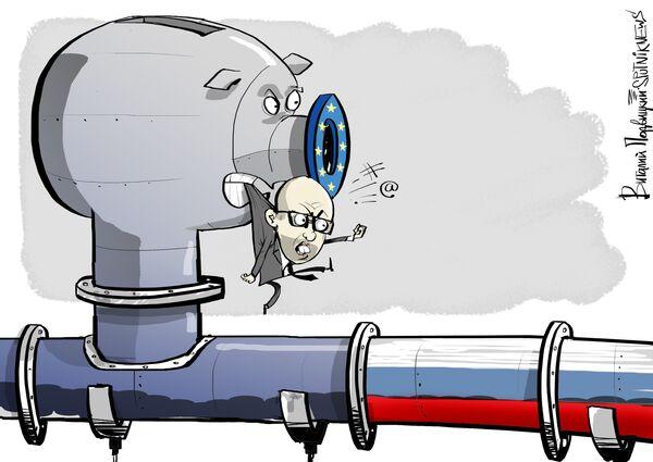 Украина заявила, что снижает закупки российского газа, компенсируя их поставками из Восточной Европы. Но и этот газ - преимущественно российского происхождения, пишет обозреватель Forbes Кеннет Рапоза. - Sputnik Абхазия