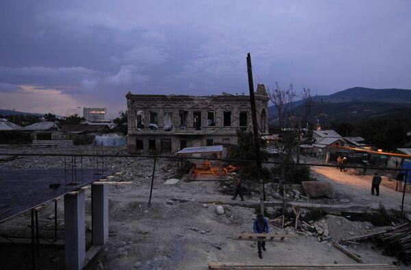 После пожара. Архивное фото - Sputnik Абхазия