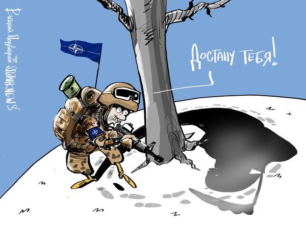 Генсек НАТО Йенс Столтенберг в ежегодном докладе заявил, что во время военных учений российская армия якобы отрабатывала применение ядерного оружия против Швеции. - Sputnik Абхазия