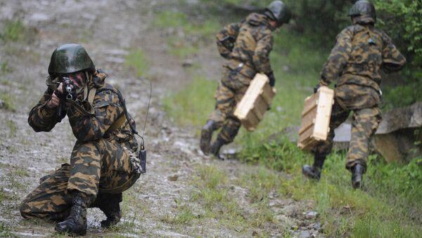 Мотострелковая бригада. Архивное фото - Sputnik Абхазия