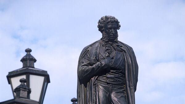 Памятник А.С. Пушкину в Москве. Архивное фото - Sputnik Абхазия