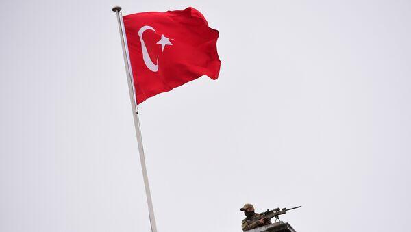 Турецкий флаг. - Sputnik Абхазия