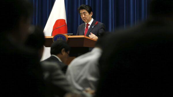 Премьер-министр Японии Синдзо Абэ. - Sputnik Абхазия