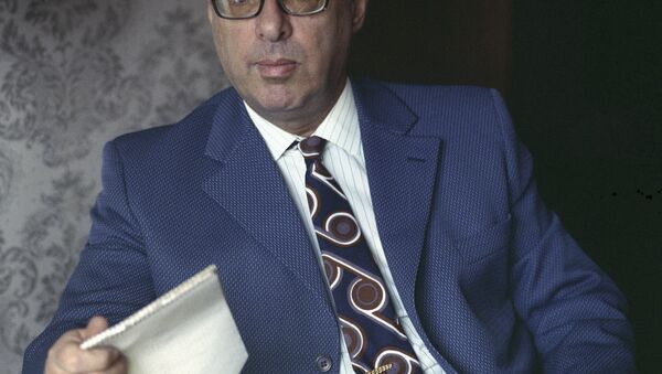 Юрий Борисович Левитан (1914-1983) - диктор Всесоюзного радио, народный артист РСФСР. - Sputnik Абхазия