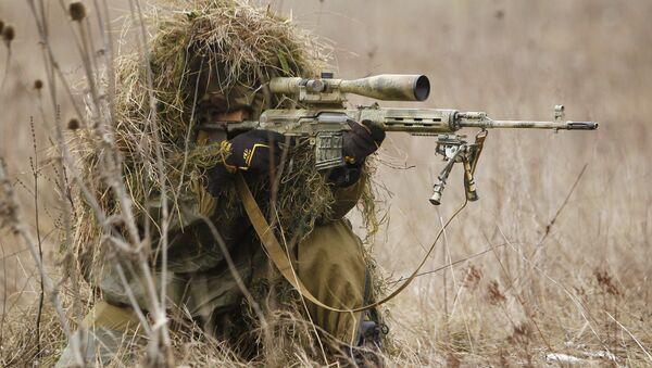 Учения бригады специального назначения ЮВО - Sputnik Абхазия
