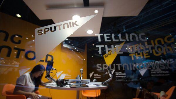 Павильон новостного агентства Sputnik - Sputnik Абхазия