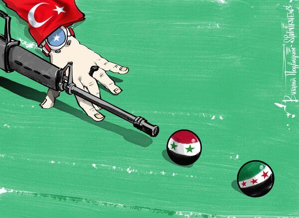Турция стремится изменить ход сирийского конфликта, но после того, как сирийские правительственные войска при поддержке российской авиации отрезали снабжение Алеппо, шансов на это у нее практически не осталось, пишет обозреватель CNN Гёнюль Тол. - Sputnik Абхазия