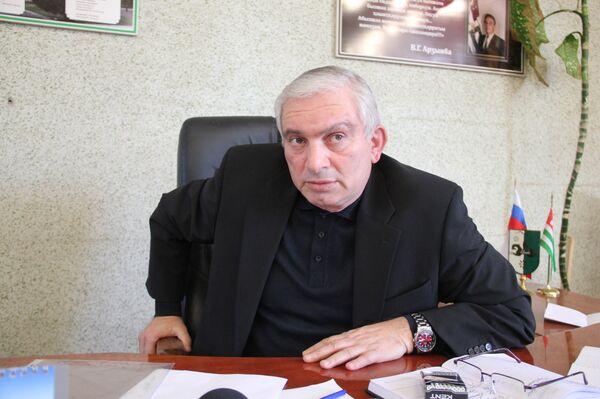 Глава Очамчирского района Хрипс Джопуа. - Sputnik Абхазия