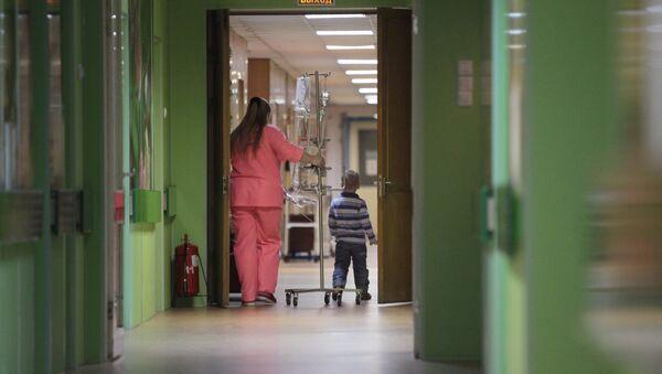 Деткое онкологическое отделение городской больницы №31 в Санкт-Петербурге. - Sputnik Абхазия