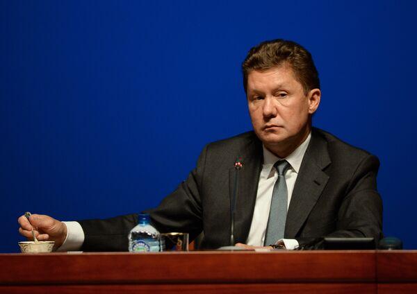Председатель правления ОАО Газпром Алексей Миллер - Sputnik Абхазия
