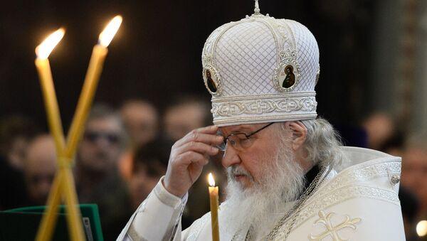 Патриарх Московский и всея Руси Кирилл. Архивное фото - Sputnik Абхазия