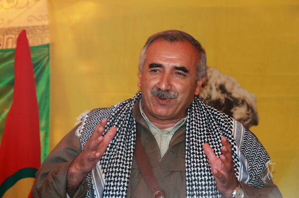 Один из лидеров курдов Мурат Карайылан. Архивное фото. - Sputnik Абхазия