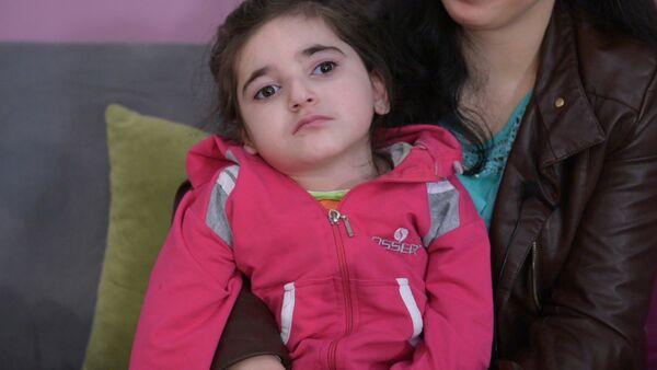 У шестилетней Милены Тания криптогенная эпилепсия - Sputnik Абхазия