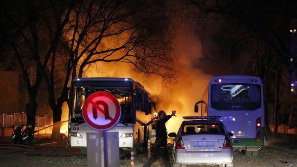 Анкара, теракт. Фото с места события - Sputnik Абхазия