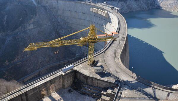 Плотина Ингур ГЭС - Sputnik Аҧсны
