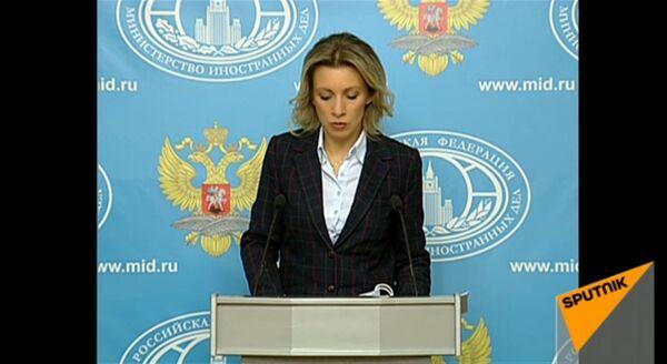 LIVE: Брифинг официального представителя МИД РФ Марии Захаровой - Sputnik Абхазия