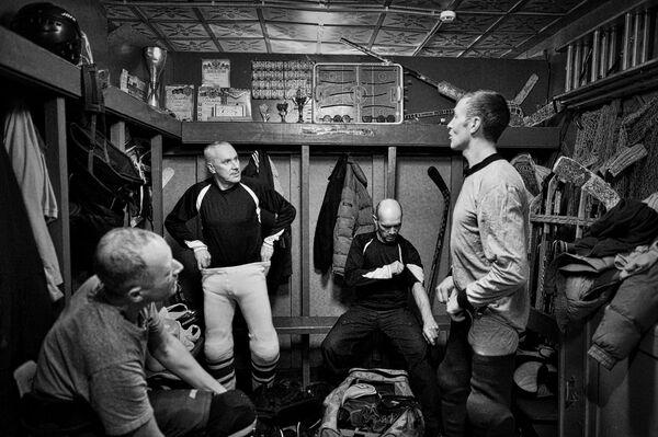Любительский хоккей в Нижегородской области. Архивное фото - Sputnik Абхазия