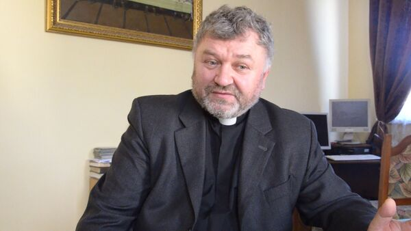 Ежи Пилюс прокомментировал  встречу Патриарха Московского и Папы Римского - Sputnik Абхазия