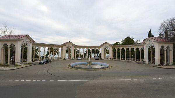 Зимний дворец в Гагре. - Sputnik Абхазия