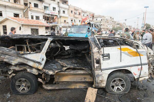Теракт в сирийском Хомсе. Архивное фото - Sputnik Абхазия