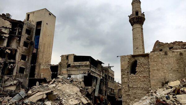 Сирийский город Алеппо. Архивное фото - Sputnik Абхазия