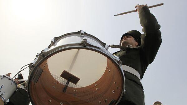 Репетиция оркестра Московского военного округа к Параду Победы - Sputnik Абхазия