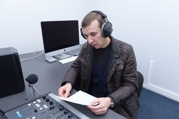 Корреспондент Sputnik Абхазия принял участие в конкурсе Говорим как Левитан. - Sputnik Абхазия