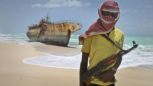Сомалийский пират. Архивное фото. - Sputnik Абхазия