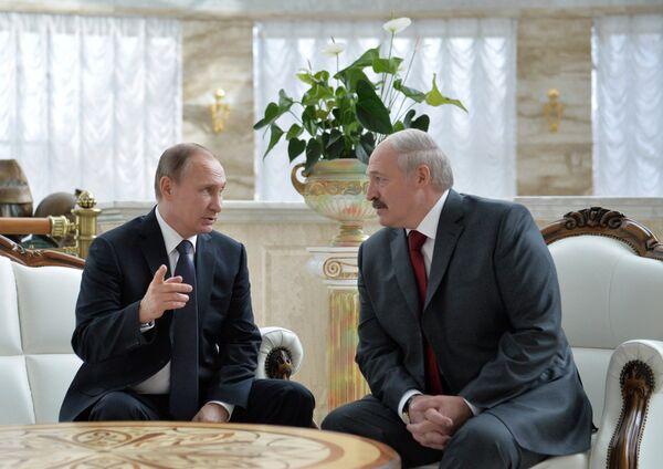 Заседание Высшего Государственного Совета Союзного государства России и Белоруссии. Архивное фото - Sputnik Абхазия