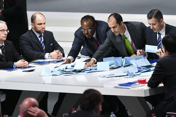 Выборы президента ФИФА. Архивное фото - Sputnik Абхазия