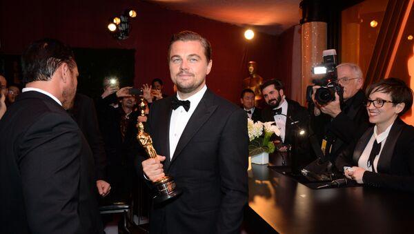 Актер Леонардо Ди Каприо на 88-й церемонии Оскар в Голливуде. - Sputnik Абхазия