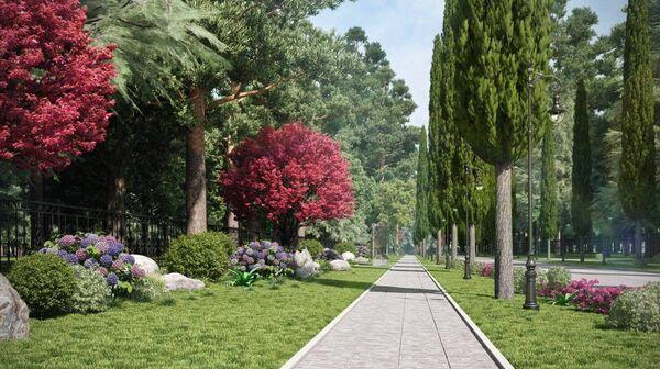 Новый дизайн - проект курорта Пицунда. - Sputnik Абхазия