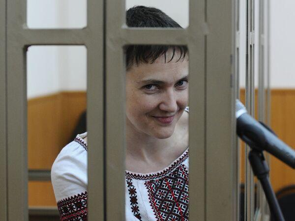 Надежда Савченко. Архивное фото. - Sputnik Абхазия
