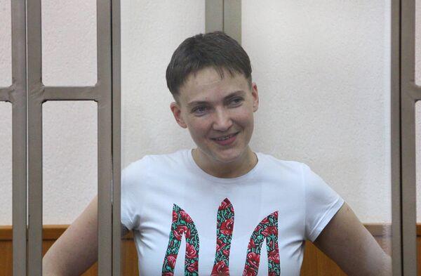 Заседание суда по делу Надежды Савченко. Архивное фото. - Sputnik Абхазия