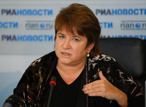 Руководитель Федеральной службы по надзору в сфере образования и науки РФ Любовь Глебова - Sputnik Абхазия