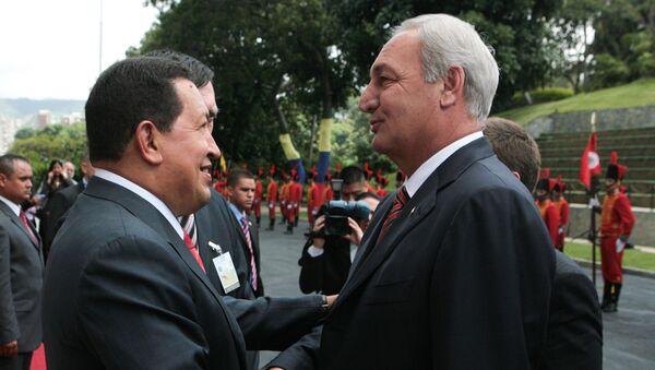 Встреча Уго Чавеса и Сергея Багапш в Каракасе - Sputnik Абхазия
